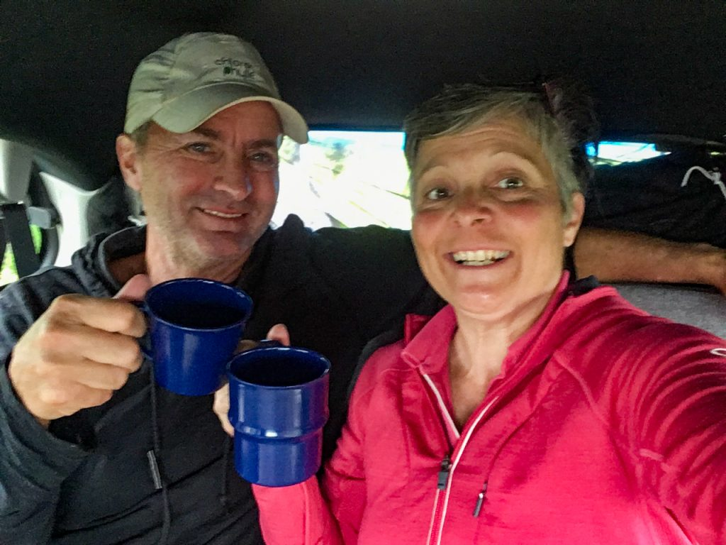 Voyage en minivan de Pierre et Lyne