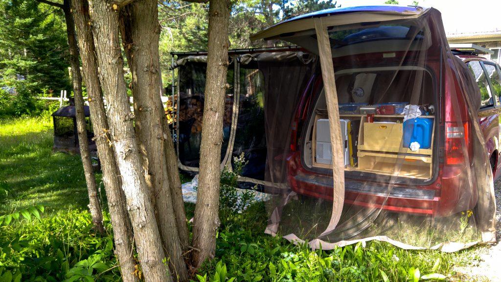 Daniel and Marie minivan travel