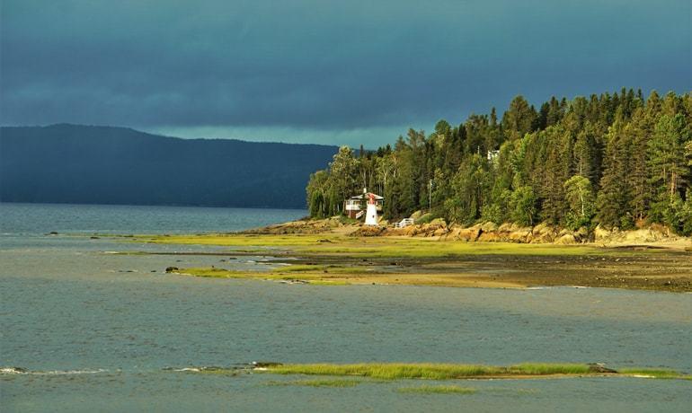 fjord saguenay la baie Le Baroudeur