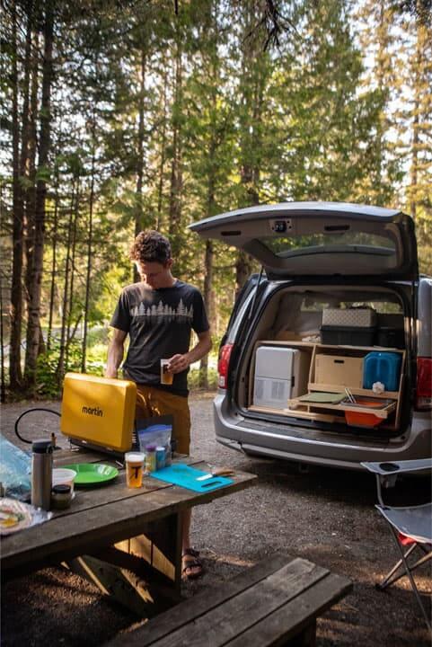 Camping en foret ©RemyOgez min Le Baroudeur